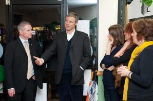 Zac Goldsmith visits Ealing winner of Great British High Street of the Year